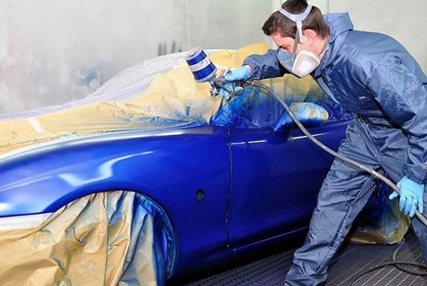 Car repaint